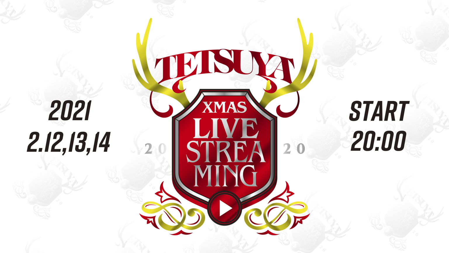 TETSUYA XmasLIVESTREAMING2020
