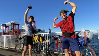 成し遂げボーイズ 東京ー宗谷岬 自転車の旅