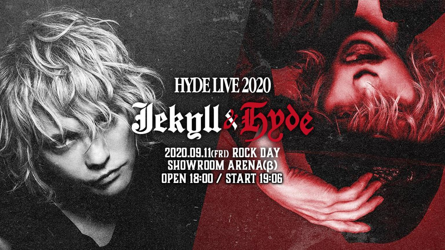 HYDE LIVE 2020 Jekyll & Hyde