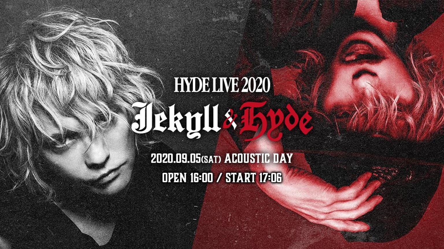 HYDE LIVE 2020 Jekyll & Hyde