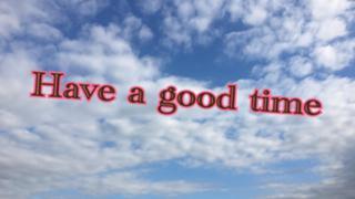 初イベ参加中!Have a good time