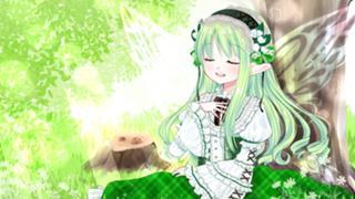 【歌合戦春歌、パン好き両声】岡原安沙季の妖精が住む森の一軒家