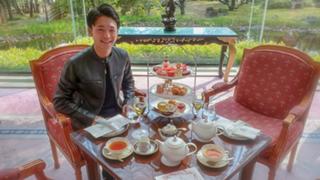Tea room macarons@堀口素直