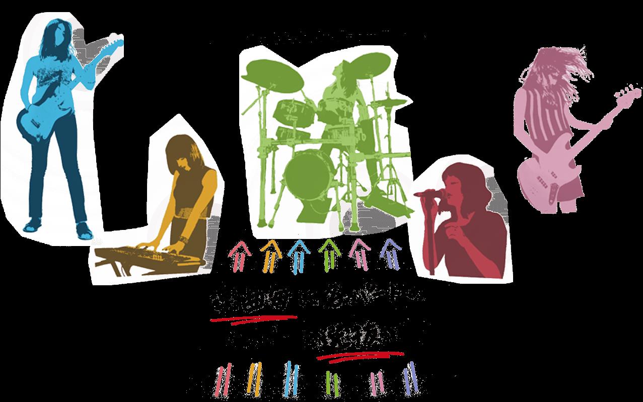 どんなバンド? 楽曲毎に各パートのメンバーを選抜!!