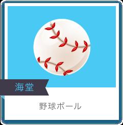 海堂 野球ボール